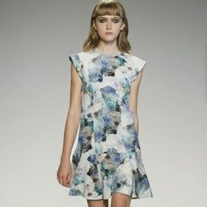 REBECCA TAYLOR -NWT- ENCHANTED GARDEN MINI DRESS 6